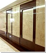 Wall cladding with Rosalia marble