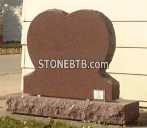 Rosebud Red Heart Monument