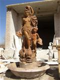 statue, sculpture, pillar, column, fountain,