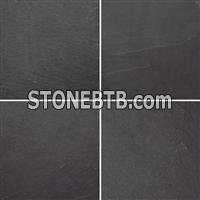 slate tile, cut to size, black