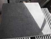 China Grey-Black Gray Granite Cube Stone