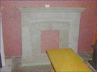 White Marble Fireplace54