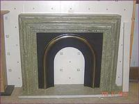 White Marble Fireplace52