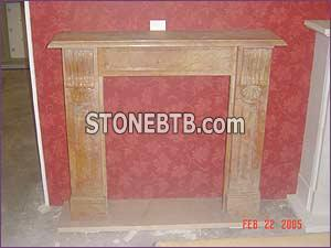 White Marble Fireplace56