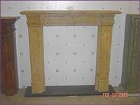 White Marble Fireplace51