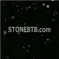 Shell Black Marble Agglomerate Stone - BB1012