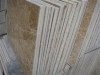 Light Emperador Marble Composite Ceramic Tiles