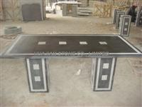 blue limestone desk