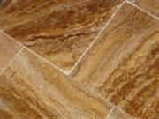 Scabos Gold Travertine Versailles Pattern