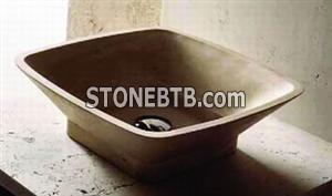 Splash Basins -Travertine