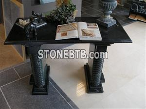 Marquina Marble Table