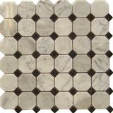 Bianco white octagon mosaic hexagon diamond mosaic statuario long subway tile calacatta gold long hexagon aluminium rain pattern