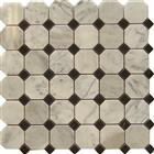 Honey Onyx Mosaic Hexagon Mosaic