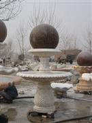 Rolling Sphere Fountains
