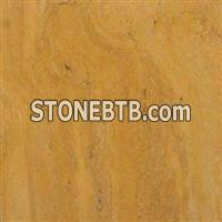 Yellow Travertine Block, Slab, Tile