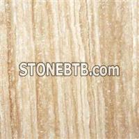 Iranian Beige Travertine Block, Slab, Tile