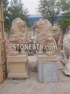 Yellow marble western lions 30 year manufacturer