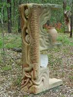 Sculpture  --Gestation of the Land