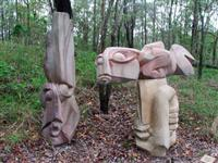 Sculpture  -- On the path to creation