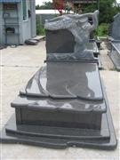 Granite Single Tombstone
