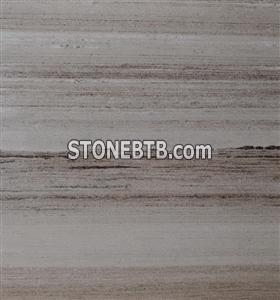 Wooden Red Granite Stone