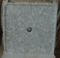 Carrara Marble Shower Pan