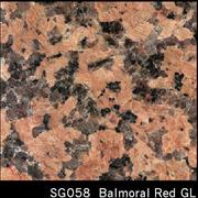 Balmoral Red Gl Granite Tile