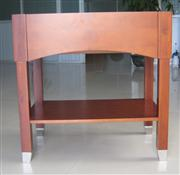 Cherry Color Bathroom Wood Base (Cabinet)