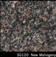New Mahogany Granite Tile