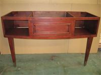 Dark Cherry Color Bathroom Wood Base (Cabinet)