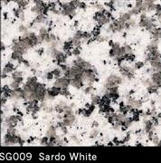 Sardo White Granite Tile