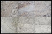 Honed Filled Silver Travertine