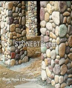 River Rock Stone - Smooth Surface