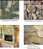 Field Stone - Random Sizes and Irregular Shaped Stones