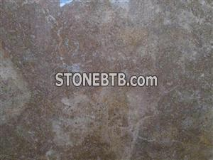 Brown Khorhe Travertine Stone