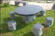 Granite Table & Chair
