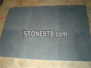 honed andesite stone tiles