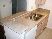 G350 Rust Sunset Gold/Yellow Granite Countertop