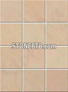 Bansi Pink One Side Honed Sandstone