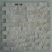 Split Face Travertine mosaic tiles MT-10