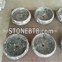 Overlord Flower Marble Sinks