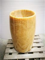 Honey Onyx Free Standing Sink,Honey Onyx Pedestal Basin