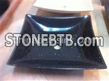 Black Galaxy Grantie Sink,Black Granite Basin