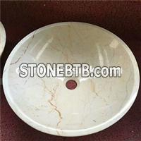 Sofitel Golden Marble Sinks,Beige Marble Basins