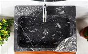 Black Fossil Marble Sinks,Black Marble Basins