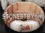 Ruby Onyx Basins,Honey Onyx Wash Basin
