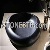 China Black Bsalt Sink,Black Basins,Granite Sinks