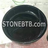 China Black Marble Bathroom Sinks
