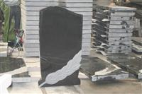 China Black Granite tombstones