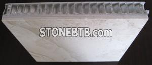 Honey-comb Aluminum Marble Composite Slab